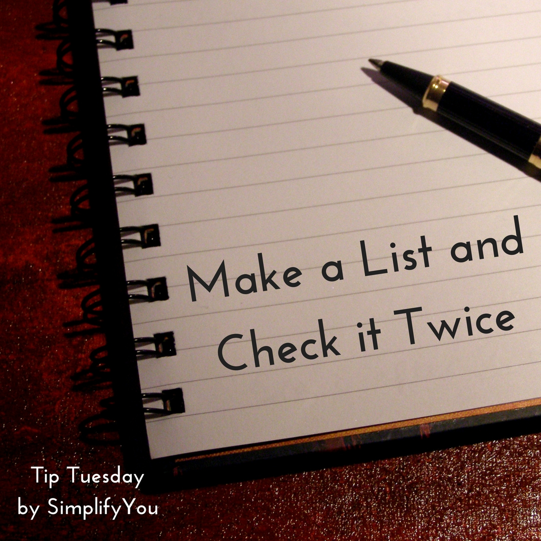 make a list and check it twice note down your favorite holiday
