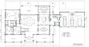 home renovation blueprint plan