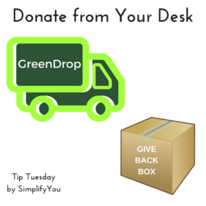 donation truck and box