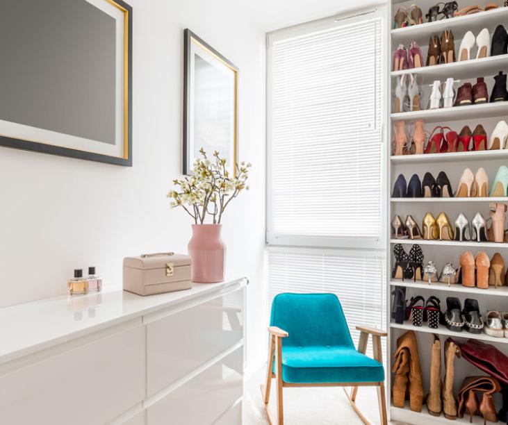 professional organized closet