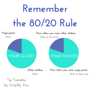 80/20 Organizing Method