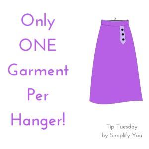 garment on hanger