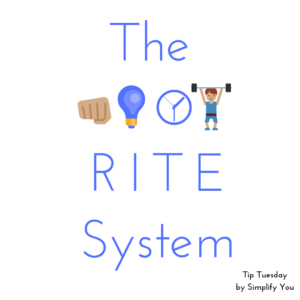 RITE system graphic
