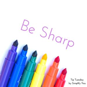 ways to use sharpie
