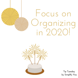 organize your 2020