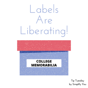 Labels are Liberating Image for organization