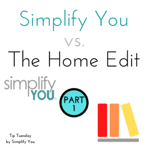 Simplify you vs the home edit image
