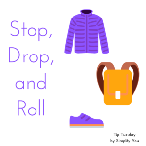 tip Tuesday drop zone for small things image