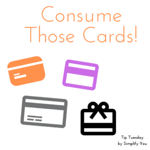 Consume Those Cards!