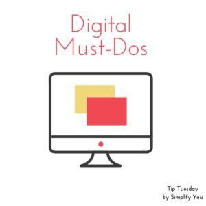 digital must do's