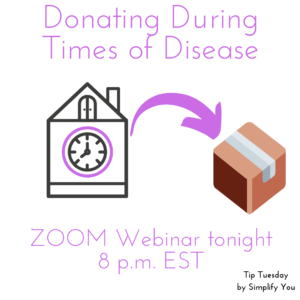 donating during times of disease