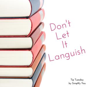 Don't Let it Languish
