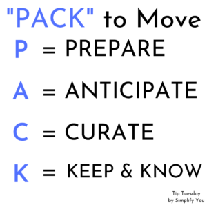 Pack to move simplify you image