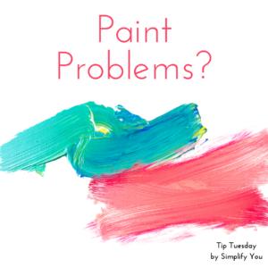 paint problems