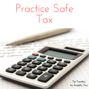 Safe tax practices image