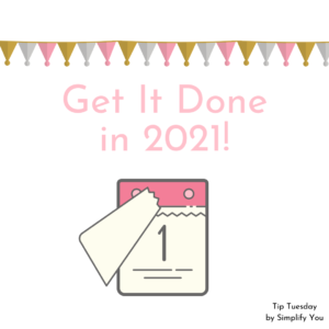 Get it done in 2021 Image Calendar Thumbnail