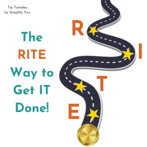 The Rite Way to do it Image