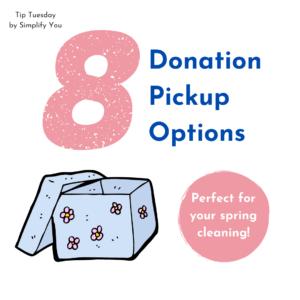 8 Donation Pickup Options Blog Image