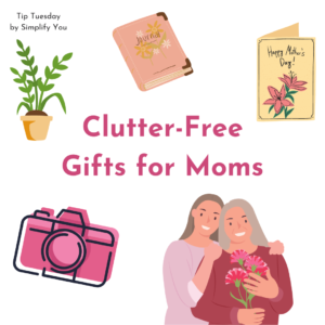 Clutter-Free Gifts for Moms Image