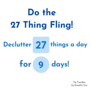 declutter 27 things image